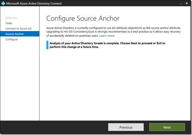 #AzureAD Connect and the on-premises AD Recycle Bin: What do you need to know about the sourceAnchor attribute